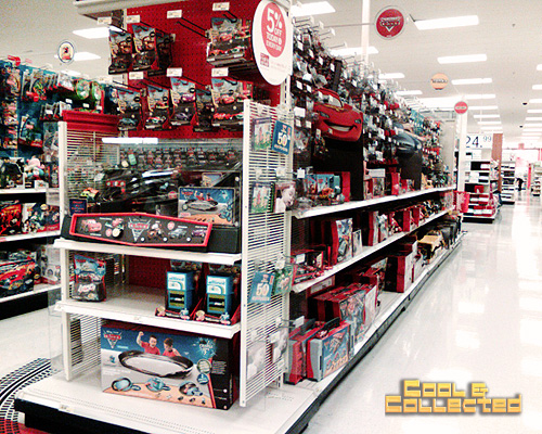 """Target Toy Aisle : Did """"cars ″ do too much coloring children s consumption"""